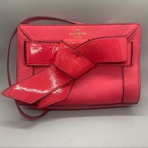 Kate Spade New York Bow Valley Leather Purse Bag